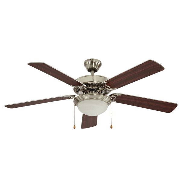 52 Rhone 5 Blade Ceiling Fan by Charlton Home