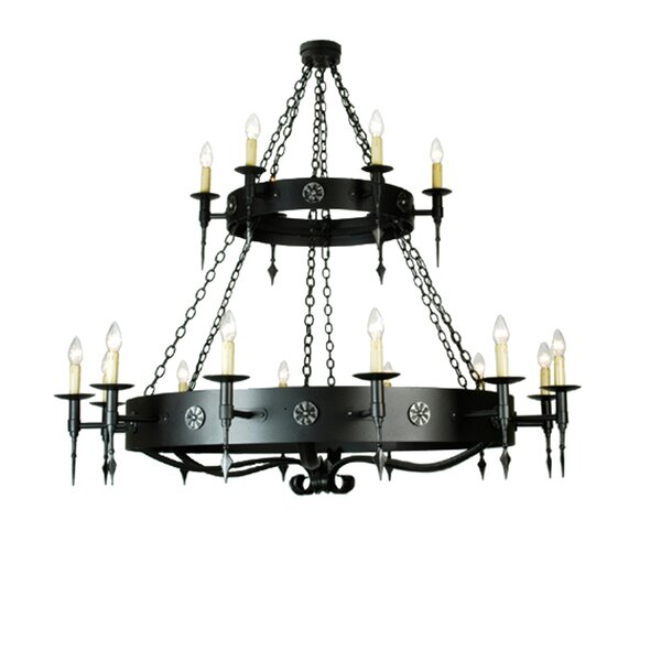 Vizcarrondo 18 - Light Candle Style Chandelier by Canora Grey Canora Grey