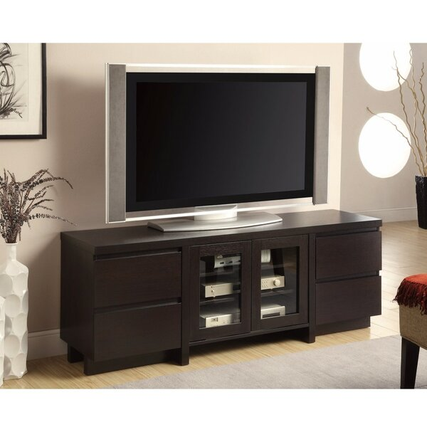 Duprey Solid Wood TV Stand For TVs Up To 70