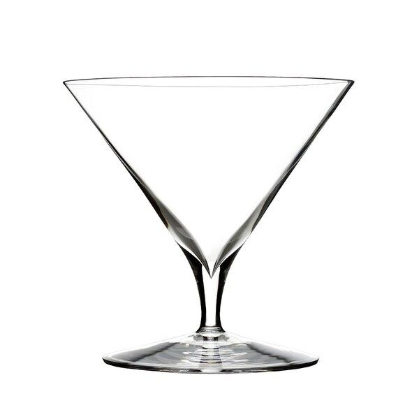 Elegance Martini Crystal Cocktail Glass (Set of 2)