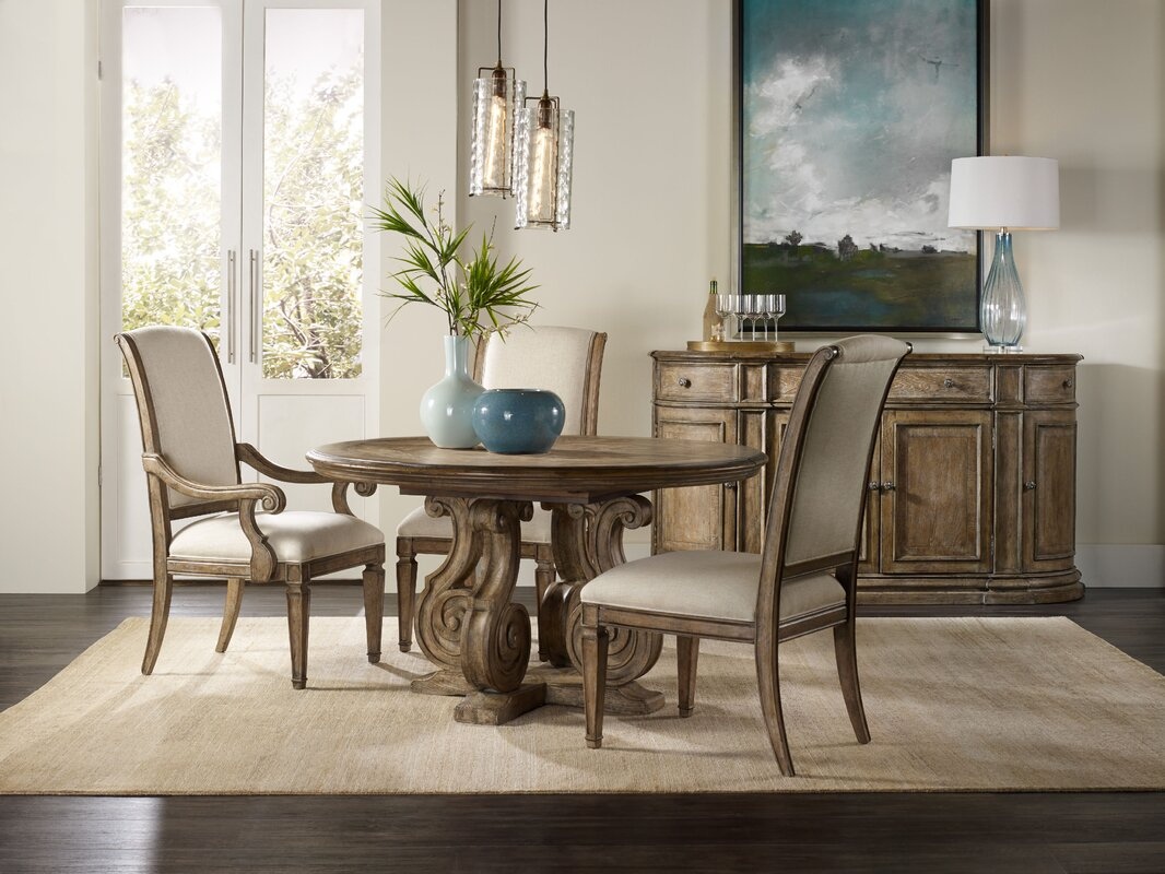 solana dining table base. hooker furniture solana dining table base  reviews  wayfair