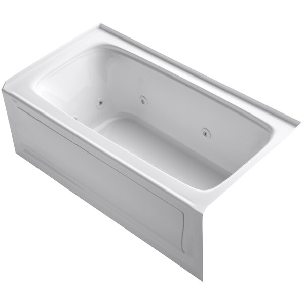Bancroft Alcove 60 x 32 Whirpool Bathtub by Kohler