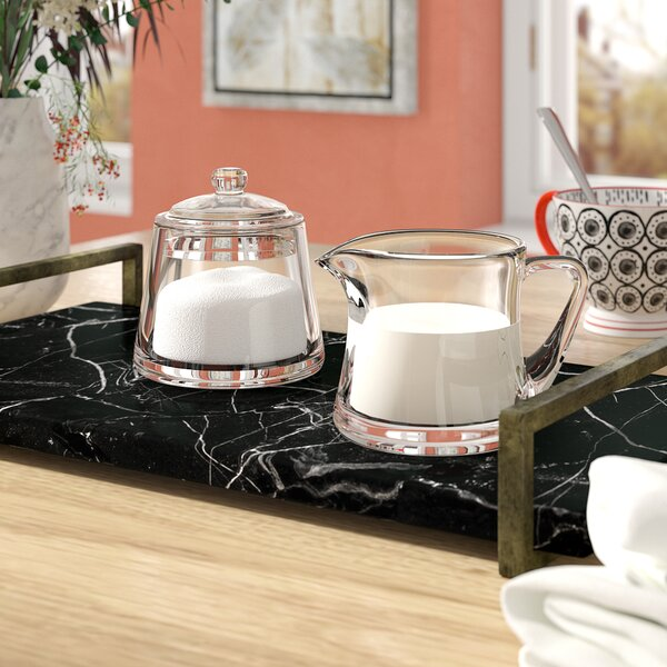 Louisburg Sugar and Creamer Set by Mint Pantry