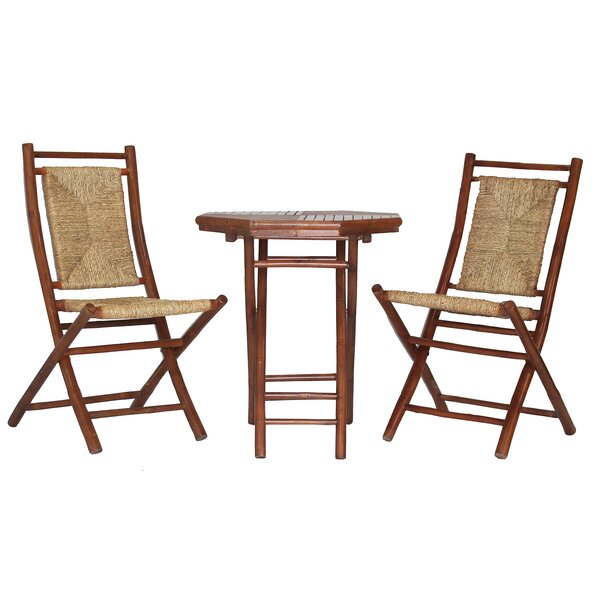 Everson 3 Piece Bistro Set By Bay Isle Home