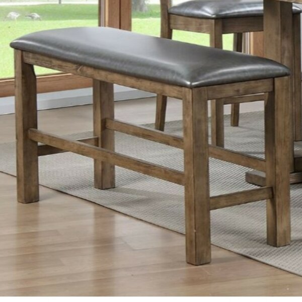 Whitt Wood Bench by Millwood Pines