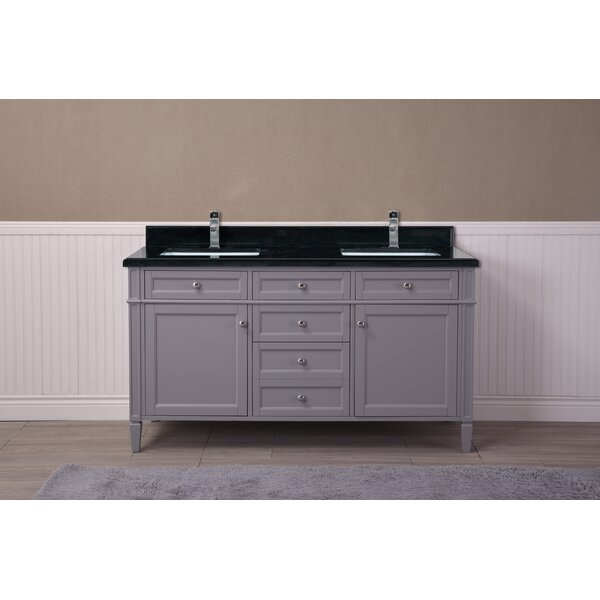 Freeland 61 Double Bathroom Vanity Set by Charlton Home