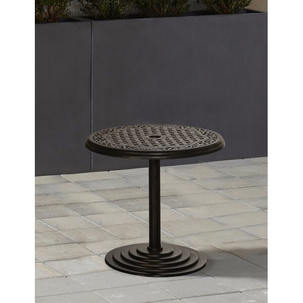 Dominquez Aluminum Side Table by Darby Home Co Darby Home Co
