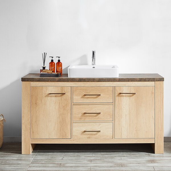 Kemp 60 Single Bathroom Vanity Set by Union Rustic