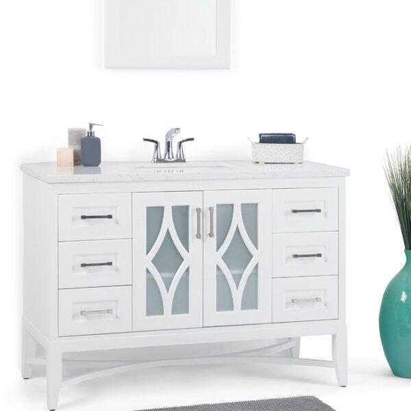 Bristol 49 Single Bathroom Vanity by Simpli Home