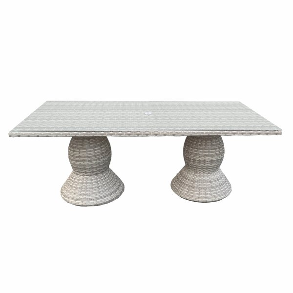 Ansonia Contemporary Dining Table by Rosecliff Heights