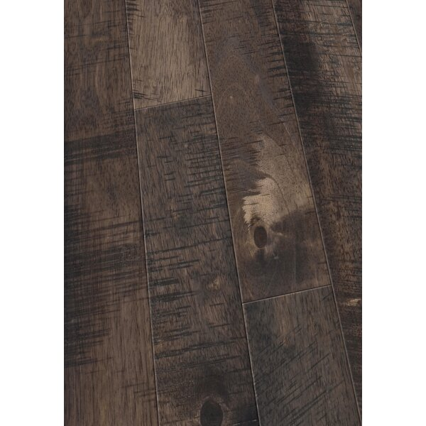 4 Solid Hevea Hardwood Flooring in Native Cocoa by Maritime Hardwood Floors