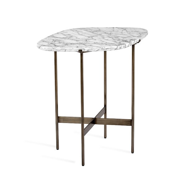 Arlington Marble Top End Table By Interlude