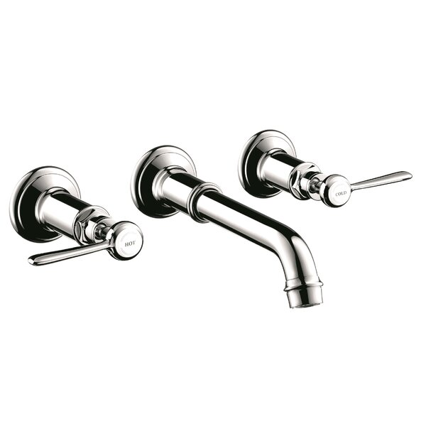 Axor Montreux Two Handle Wall Mounted Sink Faucet by Axor