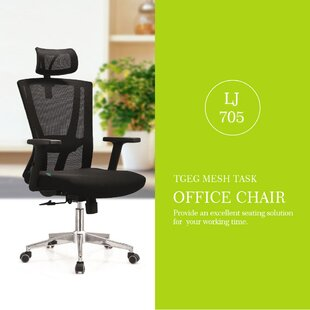 Justice Ergonomic Mesh Task Chair