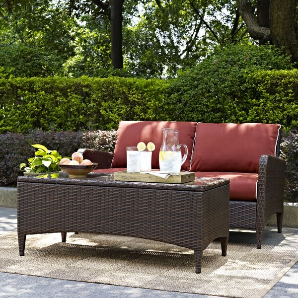 Mosca Traditional 2 Piece Sofa Seating Group with Cushions by World Menagerie World Menagerie
