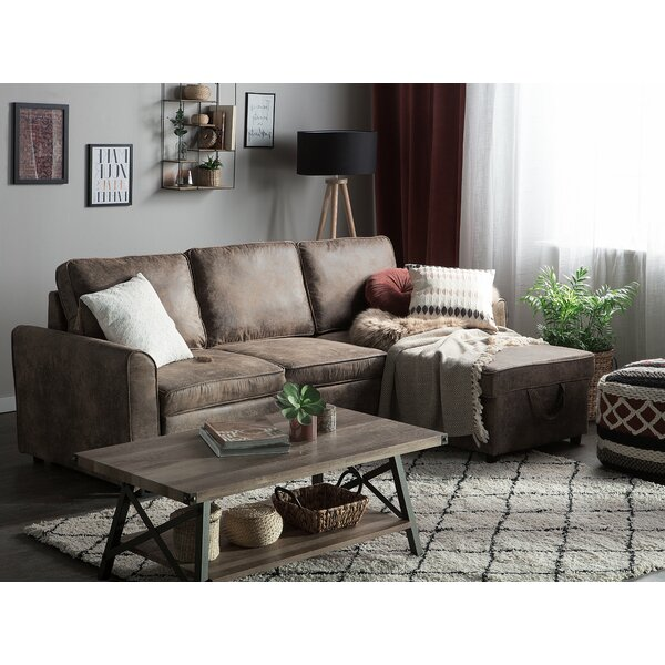 Brinker Sleeper Sectional by Winston Porter