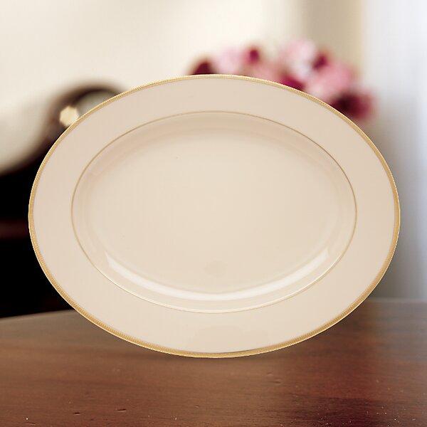 Tuxedo Oval Platter by Lenox