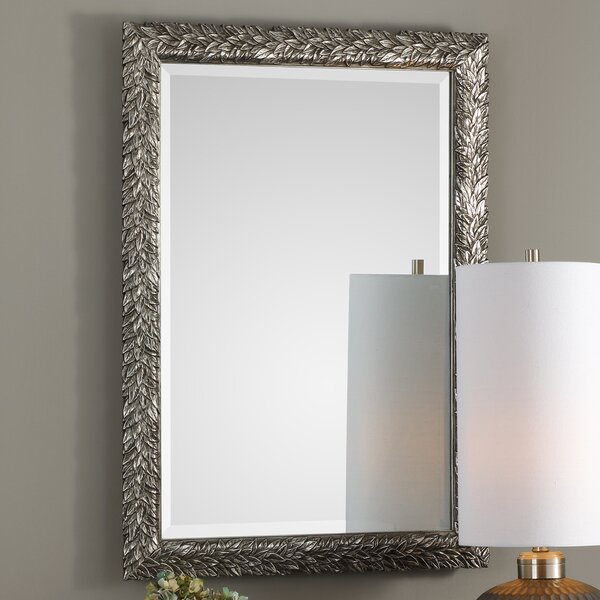 Brennen Evelina Leave Accent Mirror by Charlton Home