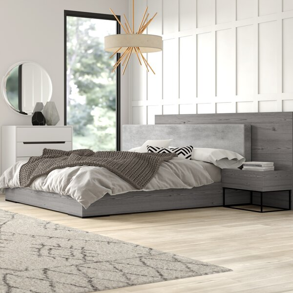 Modern  Mraz Platform Bedroom Set By Mercury Row Wonderful