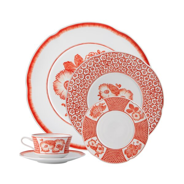 Coralina 5 Piece Place Setting, Service for 1 by Vista Alegre