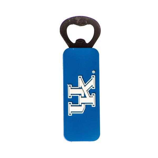 NCAA PVC Magnetic Bottle Opener by JW International Imports LTD