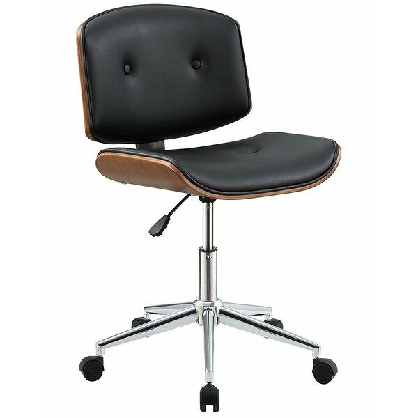 Komarek Pneumatic Lift Office Chair by Orren Ellis