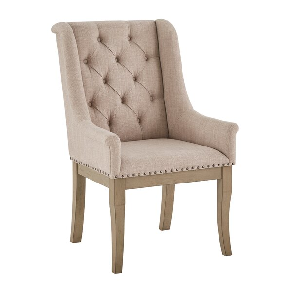 Gerald Upholstered Dining Chair (Set Of 2) By Ophelia & Co.