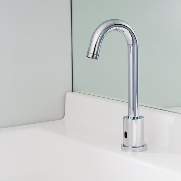 Sensorflo Gooseneck AC Powered Single Hole Bathroom Faucet By Speakman