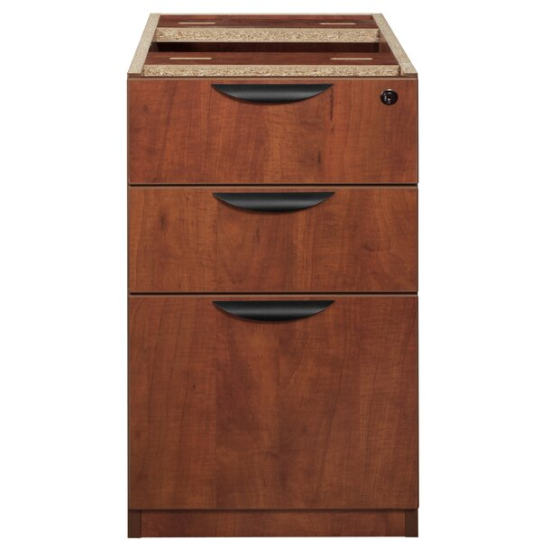 Linh Box File Pedestal 3-Drawer Vertical Filing Cabinet by Latitude Run