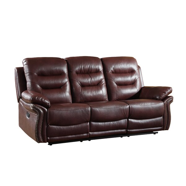 Ullery Upholstered Living Room Reclining Sofa by Winston Porter