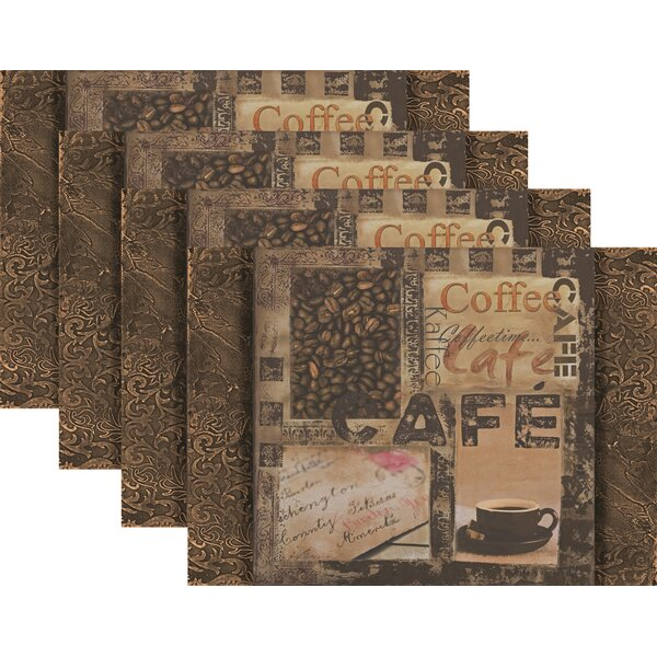 Swearengin Coffee House 18 Placemat (Set of 4) by Winston Porter