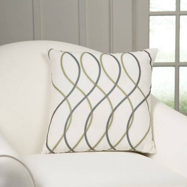 Adona Embroidered Pillow Cover by Birch Lane™