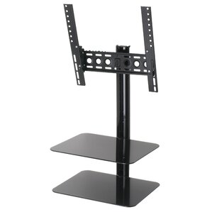 tv mount with shelf. tilt and turn tv wall mount for 47\ tv with shelf