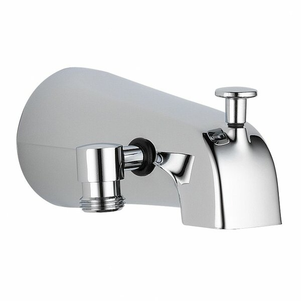 Universal Showering Components Wall Mount Tub Spout Trim with Diverter by Delta