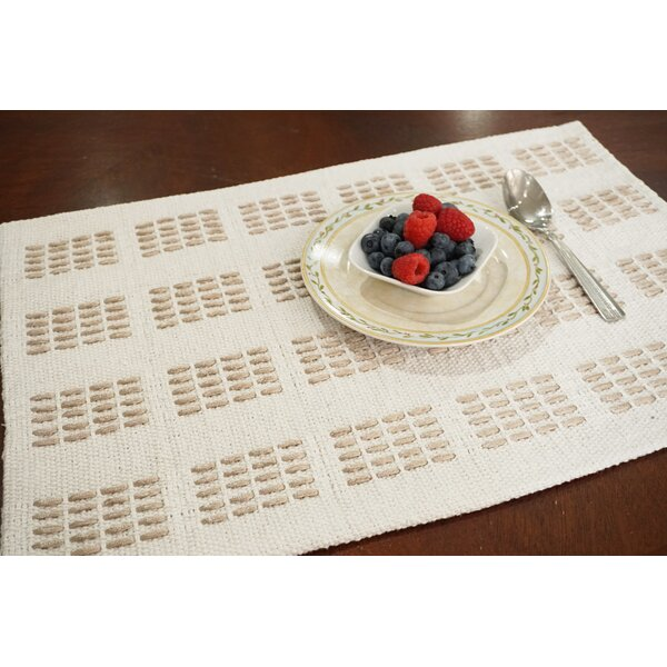 Times Square Fabric Woven 19 Placemat (Set of 8) by Dainty Home