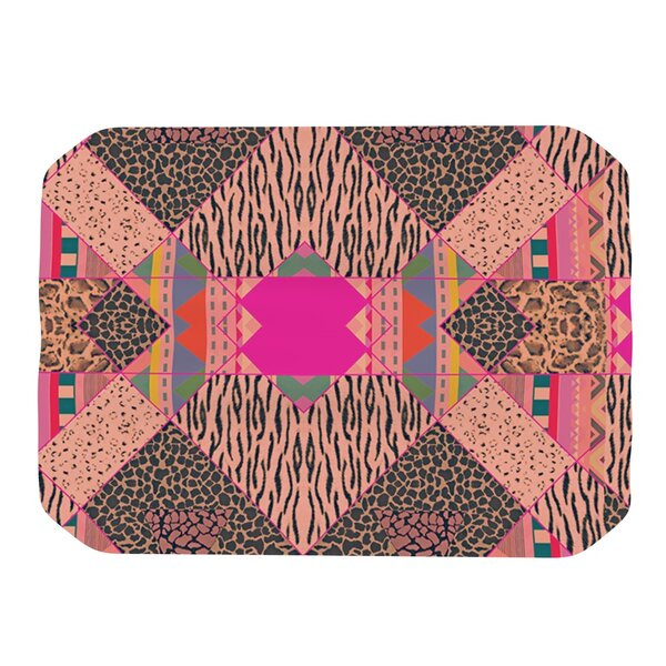 New Wave Zebra Placemat by KESS InHouse