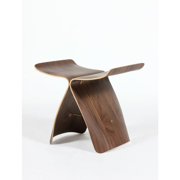 Ted Butterfly Accent Stool by Corrigan Studio