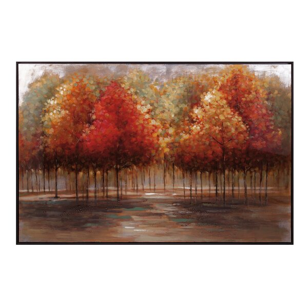 Persimmon Framed Painting Print by Trisha Yearwood Home Collection