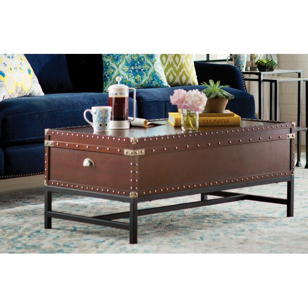Aztec Coffee Table with Storage by Trent Austin Design