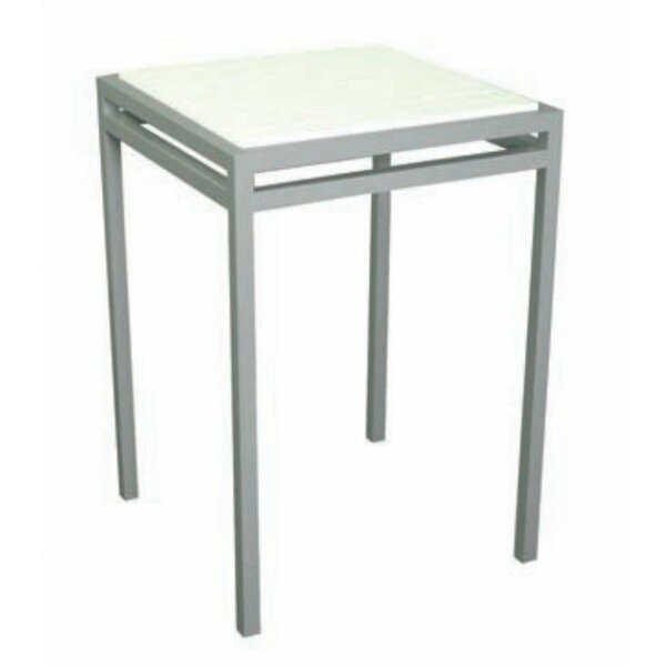 Talt Stainless Steel Bar Table by Modern Outdoor