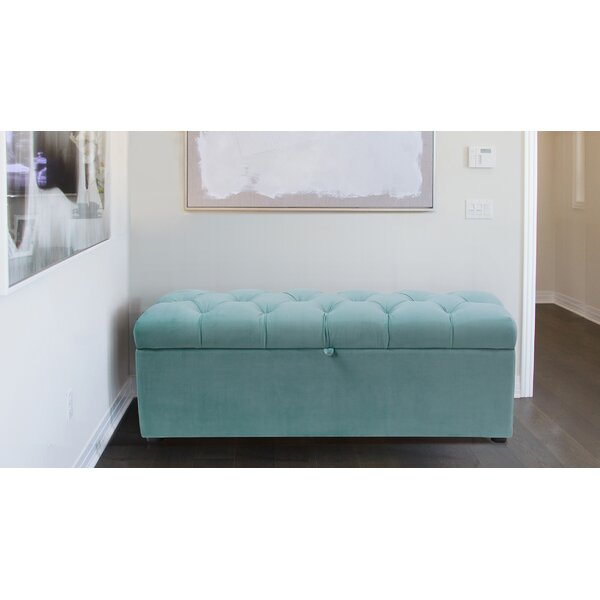 Luyen Tufted Upholstered Storage Bedroom Bench by Everly Quinn