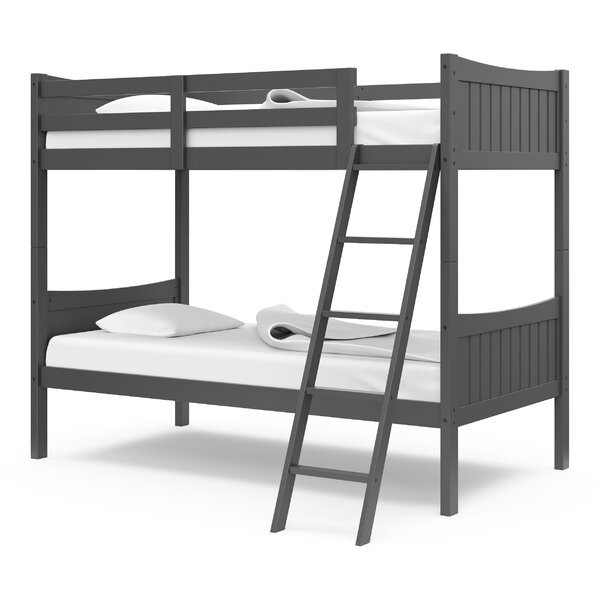 Twin Over Twin Bunk Bed By Harriet Bee by Harriet Bee Today Only Sale