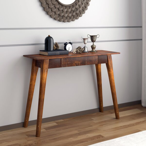 Home & Outdoor Spurlock Solid Wood Console Table