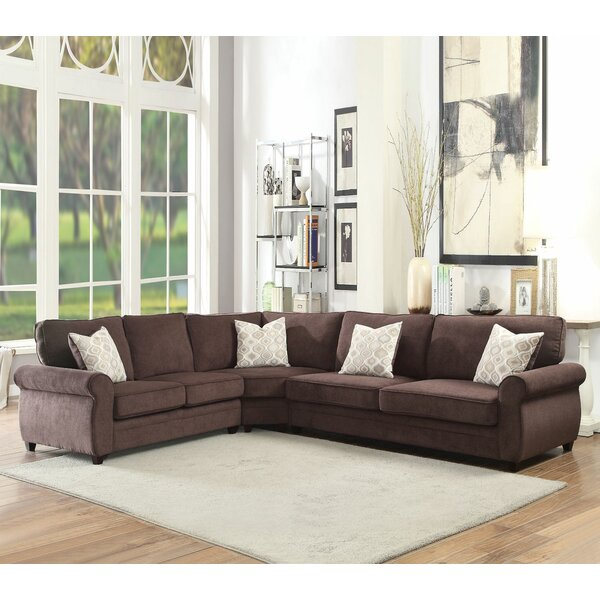 Culligan Sleeper Sectional by Darby Home Co