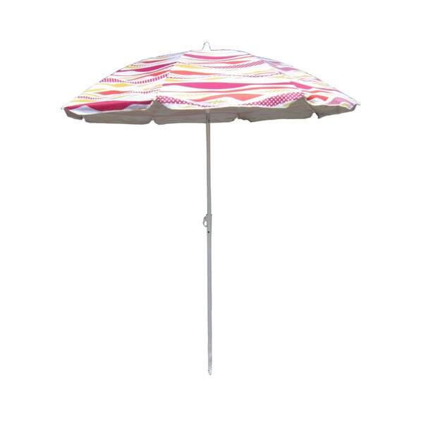 6' Beach Umbrella by Pure Weather Pure Weather