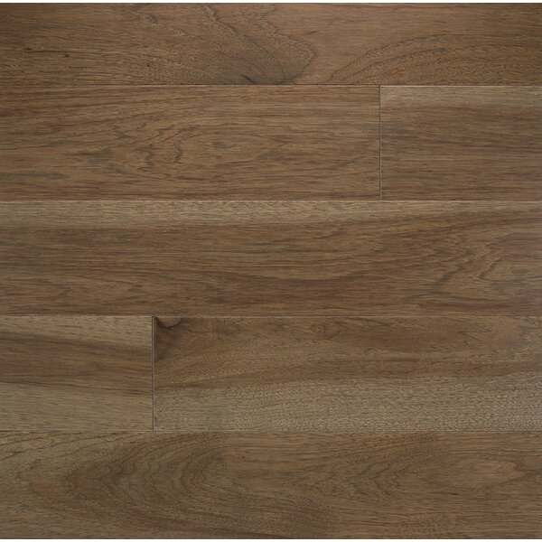 Specialty 4 Solid Hickory Hardwood Flooring in Moonlight by Somerset Floors