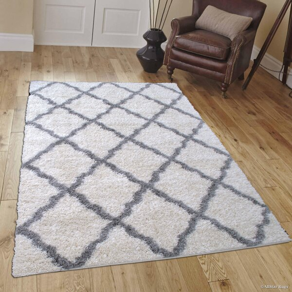Abbey Ivory Area Rug by Harriet Bee