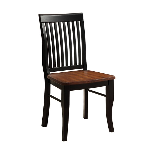 Pedrina Solid Wood Dining Chair (Set of 2) by Hokku Designs