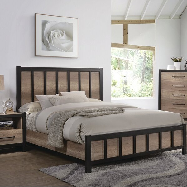 Creger Standard Bed by Bloomsbury Market