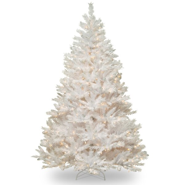 National Tree Co. Winchester Pine 7' White Artificial Christmas ...